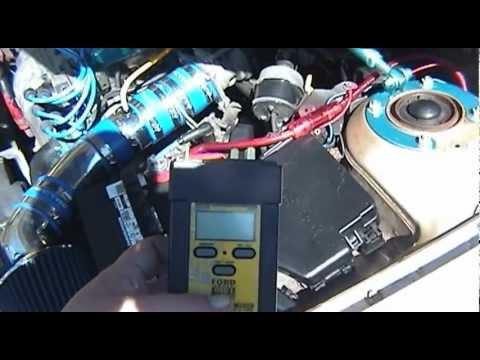 EEC-IV KOEO Test (Key On Engine Off)