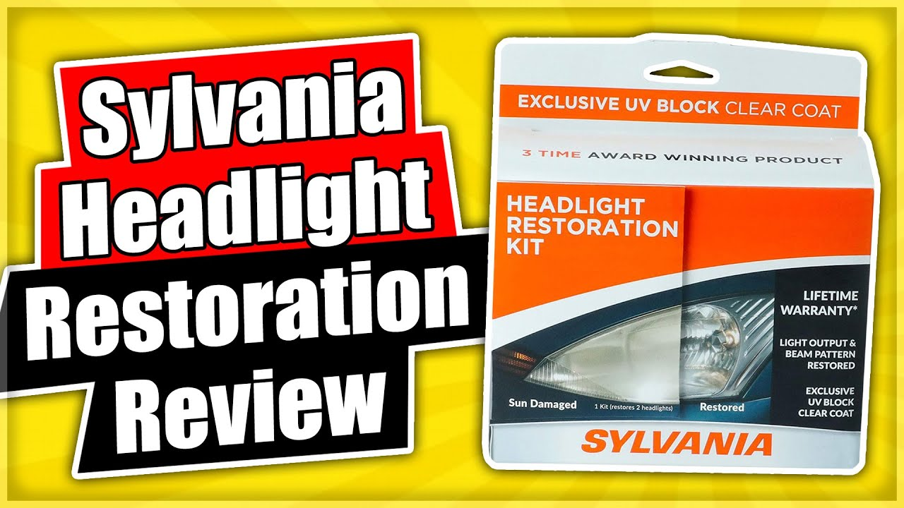 Sylvania Headlight Restoration Kit Review & 1 Year Update
