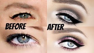 The ultimate cut-crease tutorial for hooded eyes!! (very in depth!!) | stephanie lange