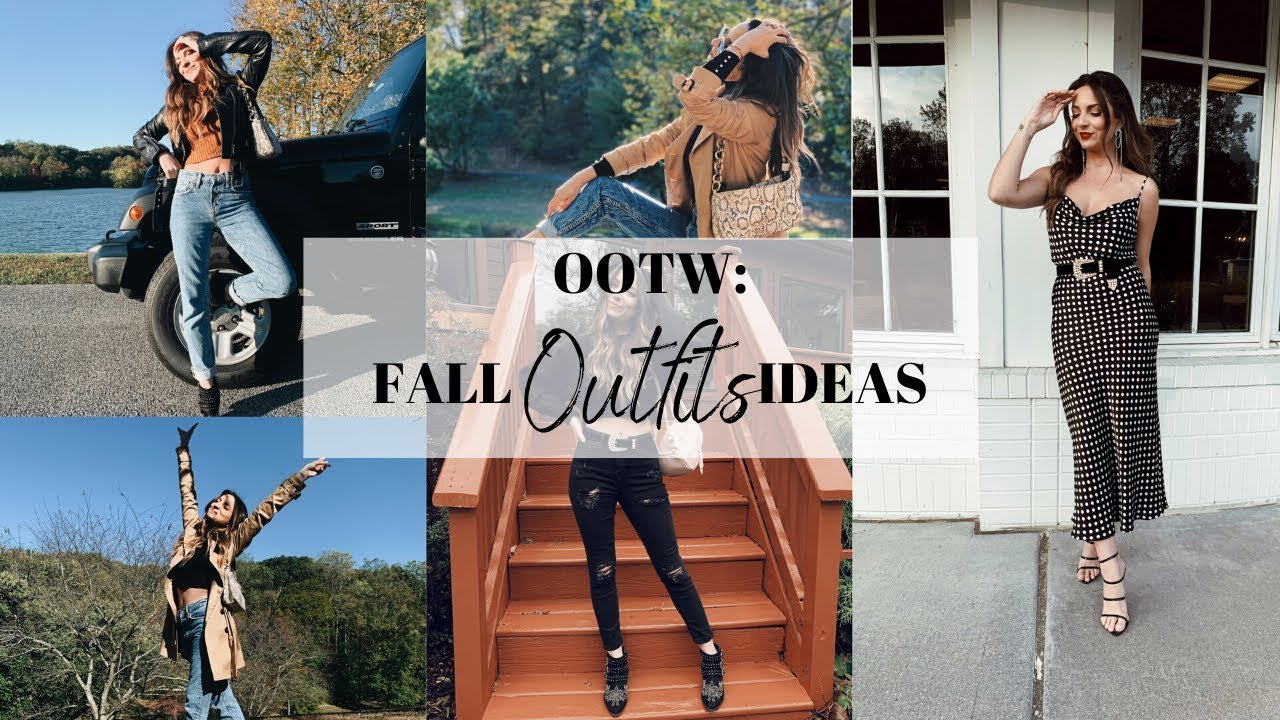 [VIDEO] - FALL OOTW: 4 OUTFIT IDEAS FOR FALL/WINTER ❤️ | Street Chic Geek 1