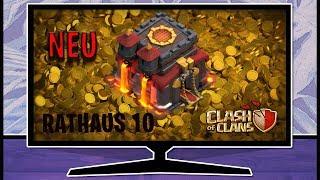 Neu Rathaus 10 in Clash of Clans - Was man als erstes upgraden sollte - Clash of Clans deutsch