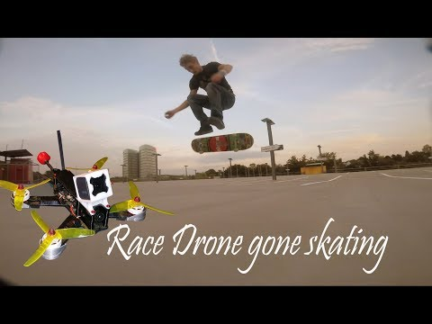 ????????Smoothly Sunset SKATE DRONE Session ????????- FPV Race Drone Betaflight 3.2 Dynamic Notch - Gopro   2.7K