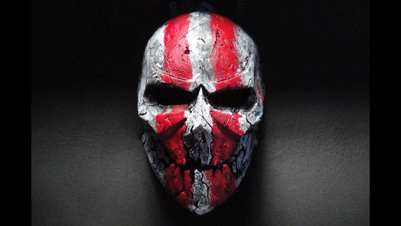 какие страшные маски делают на хэлоуин