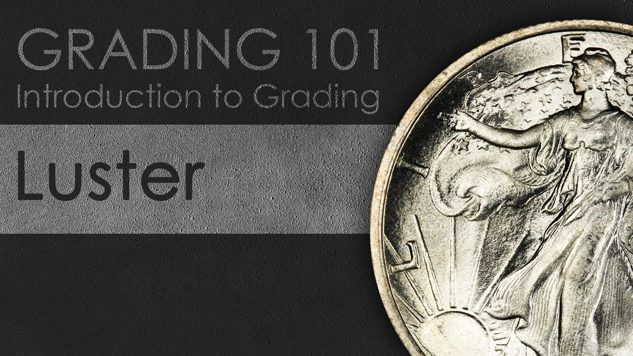 Lüster Luster Introduction To Coin Grading Using Mint State Walking Liberty Half Dollars