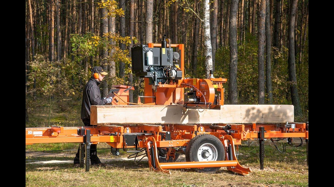 Scierie mobile Wood-Mizer LT40 - Europe