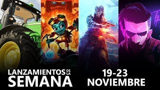 Xbox One | Lanzamientos de la semana (19 - 23 noviembre)