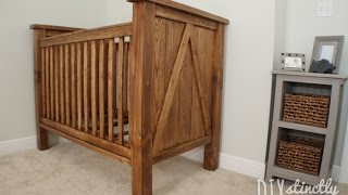 Step by step guide: http://woodworkguides.com/ Wooden Baby Crib DIY.