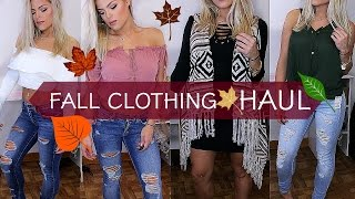 FALL clothing haul 2016 | TRY ON