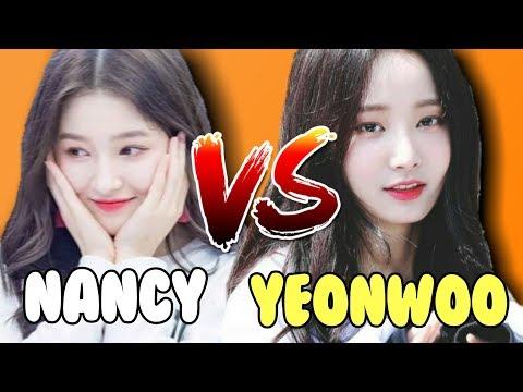 NANCY VS YEONWOO VISUAL BATTLE