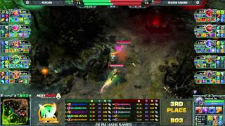 CiC Pro League 3rd Place Match - KNX vs Rea game 1