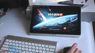 Демо игр Diablo 3, Mass Effect 3, Fruit Ninja на планшете с Windows 8