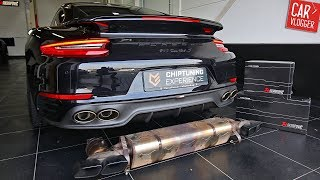 Exhaust Series | Porsche 991.2 Turbo S 2017 w/ Akrapovic Evolution System