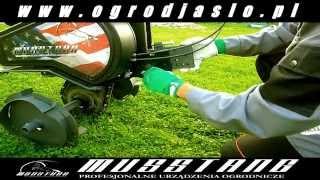 Glebogryzarka Musstang 19 Konsola montaż