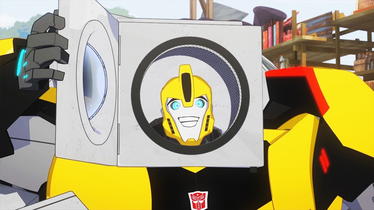 Download Bumblebee is a Baby?!? | Robots in Disguise (2015) | Transformers Official