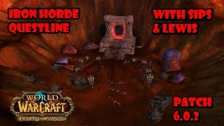 World of Warcraft 6.0.2 - Blasted Lands Pre-Quests - Team Double Dragon