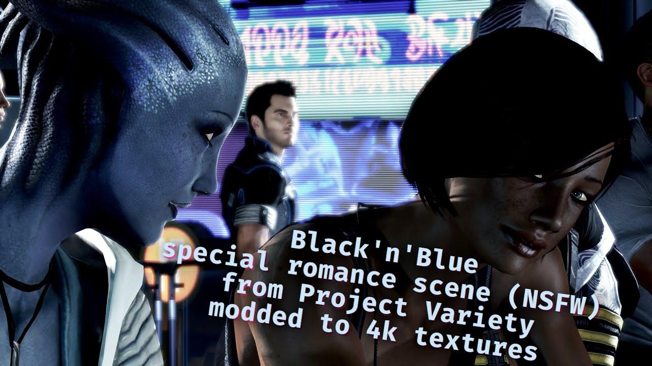 Download Citadel Black'n'Blue ; Liara and FemShep Citadel Romance ; 4k textures (PP Specials S01E09) (NSFW)