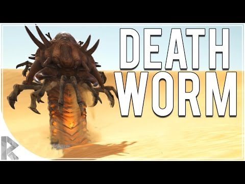 First Time vs Death Worm!! - Ark Survival Evolved Scorched Earth DLC - Part 11 (Ark Scorched Earth)