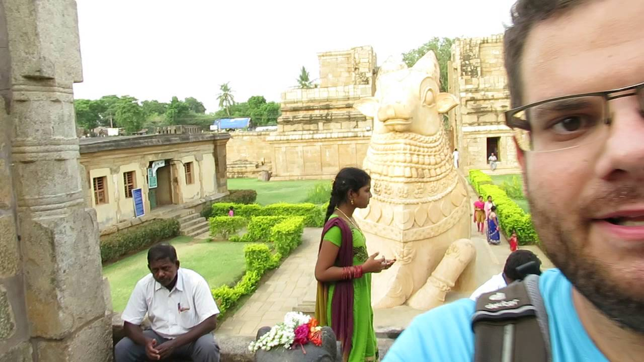 A templomot őrző bika Csolapuramban