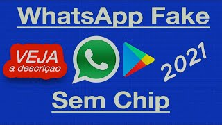 COMO CRIAR NÚMERO FALSO (FAKE) para whatsapp  (ERRO RESOLVIDO!)