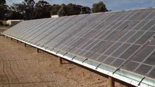 Solar Desalination Water Farm In Mildura