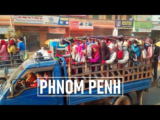Miasto, z którego wysiedlono WSZYSTKICH | Pierwszy wieczór w Phnom Penh | Kambodża vlog #6