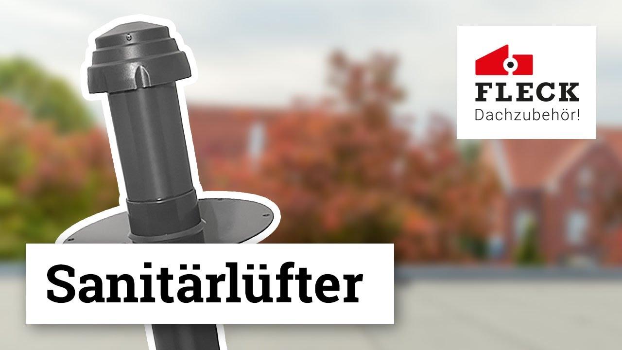 altschwarz /– engobiert Fleck Sanit/ärl/üfter PVC DN 100 f/ür Nelskamp F13 Classic