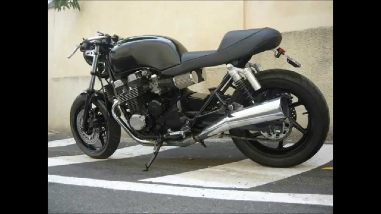 La Honda Cb 750 Seven Fifty De Seb Cafe Racer Super Bikes Cb750 Cafe