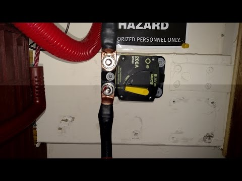 Ben-gi Car Marine Boat DC 12V//24V 60A Solar System Waterproof Circuit Breaker Reset Inline Fuse Inverter