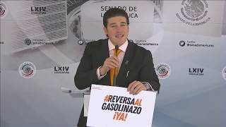 Conferencia Del Senador Samuel García, Del 10 De Marzo De 2020