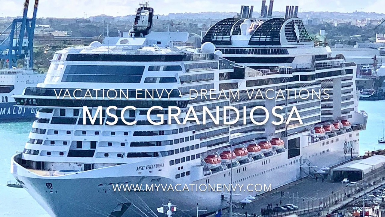 MSC Grandiosa Ship and Suite Tour 1080p - YouTube