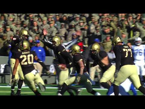 Highlights: Army Football vs. Duke 11-11-17
