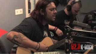 Seether - Fake It (Acoustic on 92.3 K-Rock)