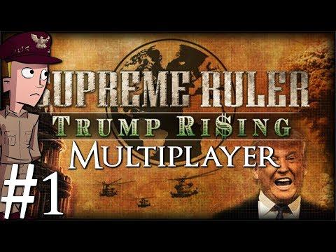 Supreme Ruler Ultimate | Trump Rising | Multiplayer | Poland | Part 1