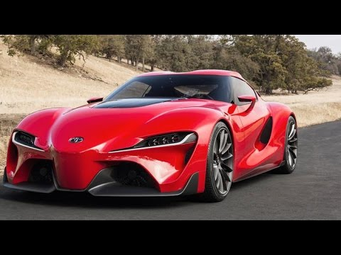 Upcoming 2018 Toyota FT1 Concept Sports Car  YouTube