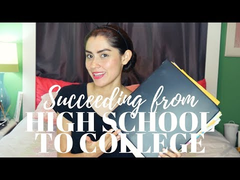 TIPS+DIY+GIVEAWAY Succeeding from HS to College