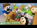 OMG!!! BALDI'S BASICS Official Phat Mojo Toys UNBOXING!!