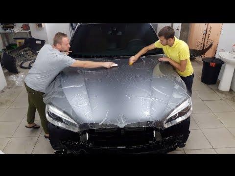 5,5 млн  под защитой, оклейка BMW X6 в матовую пленку