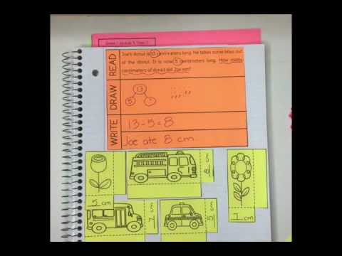 Math, Grade 3 (Interactive Notebooks) Carson-Dellosa Publishing