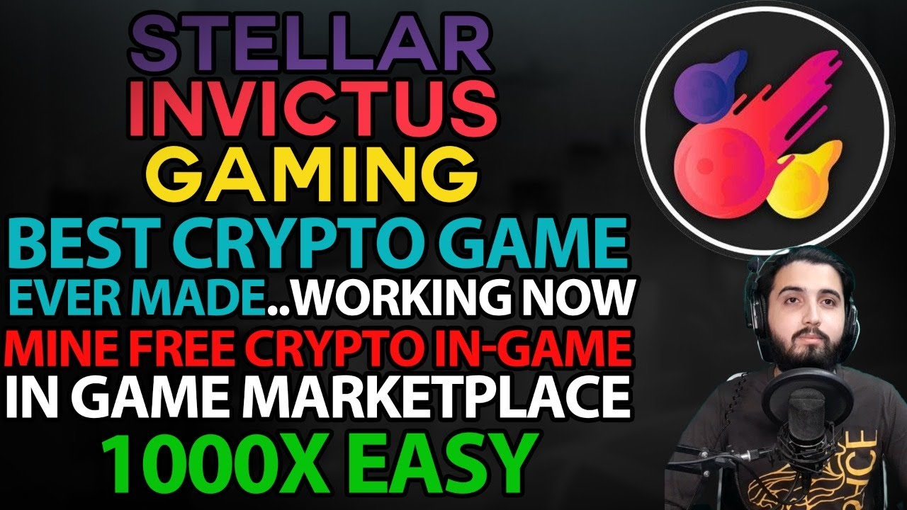 Stellar Invictus Gaming..Best Crypto Game EVER Made..Working RPG MMO Game Now