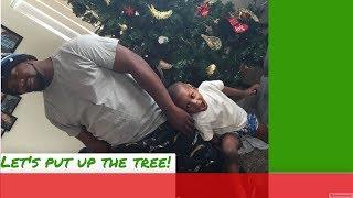 Putting up our Christmas tree and decor| Christmas 2018
