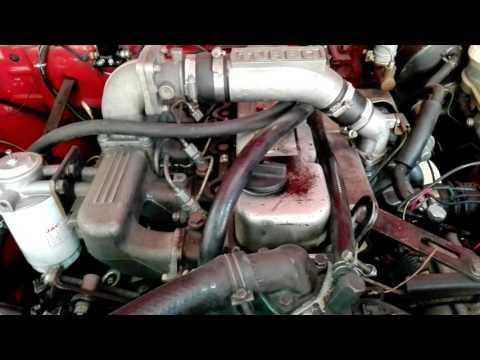 Decantador de aceite en motor nissan td 27