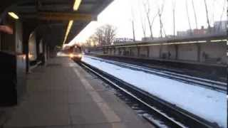 NYC Subway Special: R142A 5 Train Arriving at Gun Hill Road!