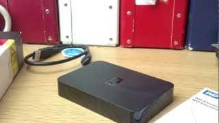 Western Digital Elements 500GB Portable Hard Drive Unboxing