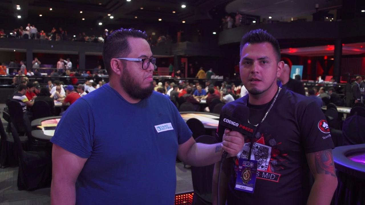 Red Poker Tour Dia 1C Entrevista con Alain Estrella