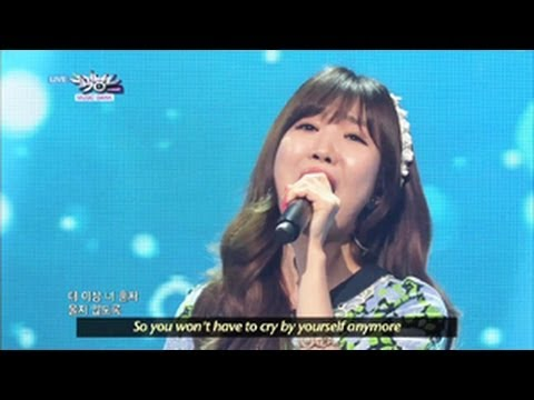 Davichi - Be Warmed & Turtle (2013.05.11) [Music Bank W/ Eng Lyrics]