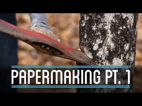 Papermaking Pt. 1 | How to Make Everything: Book