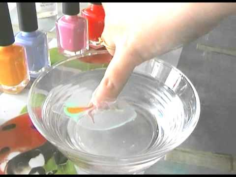 nail art n 1 ongles arc en ciel water marble youtube. Black Bedroom Furniture Sets. Home Design Ideas
