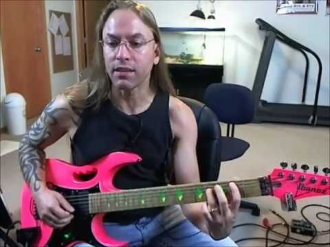 steve stine guitar lesson learn how to play the intro to one by metallica youtube. Black Bedroom Furniture Sets. Home Design Ideas