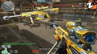 Crossfire NA 2.0 : Barrett Iron Shark Noble Gold - Hero Mode X - Tiền zombie V4