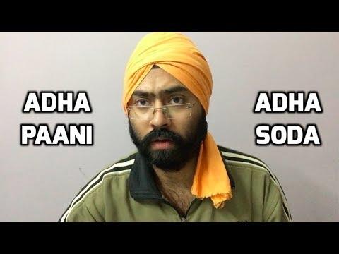 Aadha Paani Aadha Soda   Harshdeep Ahuja V10 - YouTube